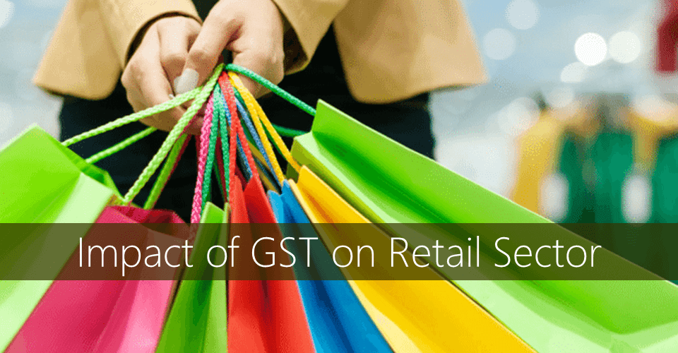retail industry and GSt
