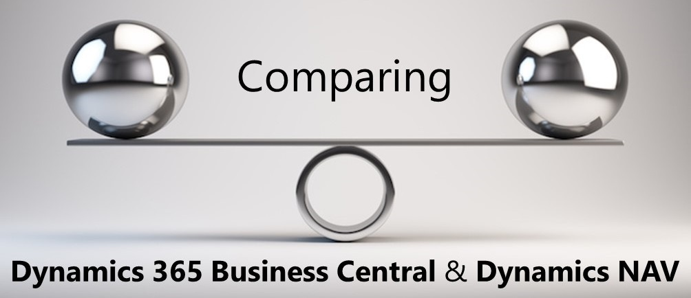 Comparing Dynamics 365 Business Central and Dynamics NAV