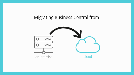 How to migrate Business Central from on-premise to cloud using extensions?