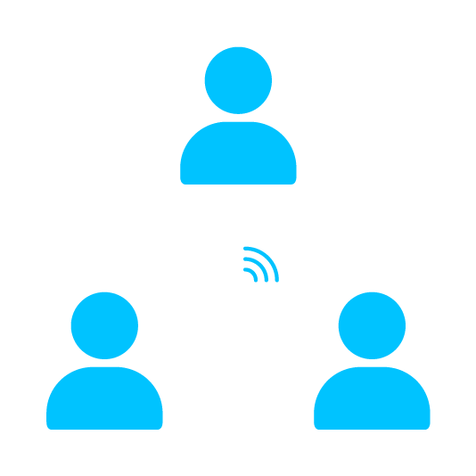 improve collaboration and communication icon
