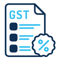 calculate gst on proposals icon