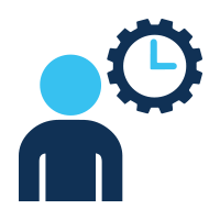 experience fewer delays icon
