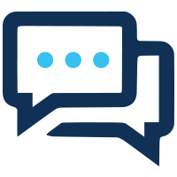 integration with sms and whatsapp icon
