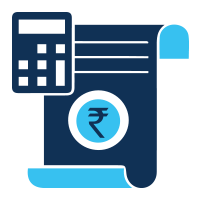 keep a track of costs and expenses icon