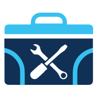 keep track of tools and equipment icon