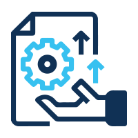 plan projects based on capacity icon